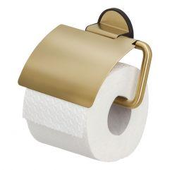 Toalettrullholderm-lokkdbl.sidig3MVHB-tape mattbørstetmessing