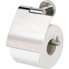 Toalettpapirholdermed lokk blankpolert